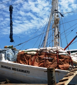 Paotere Hafen in Makassar