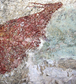 Rock Painting in a Cave in Maros, AI 2014