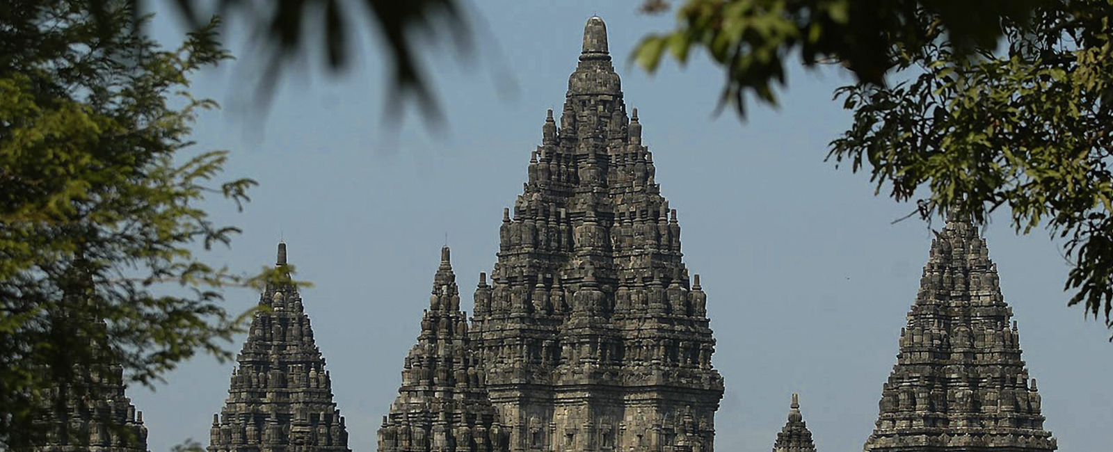 The ancient temples of Java