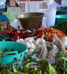 Market Kota Gede. Rollstuhlreisen in Yogyakarta