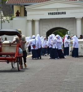Vredeburg. Rollstuhlreisen in Yogyakarta