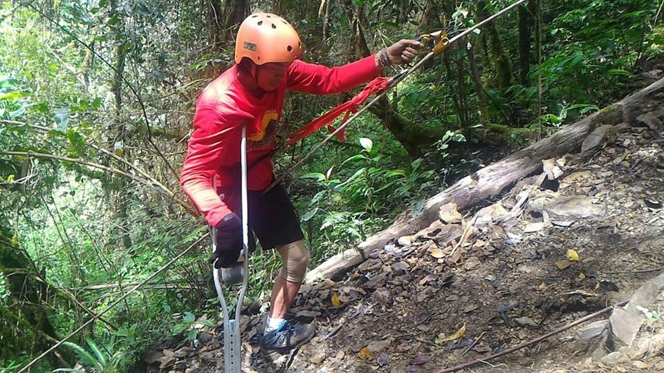 Climbing Latimojong