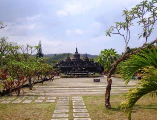 Buddhist Tempel Bali