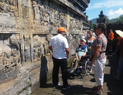On the Borobudur