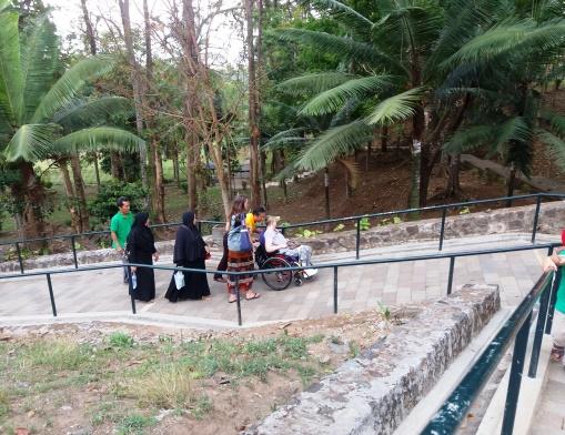 Ramp onto Borobudur base