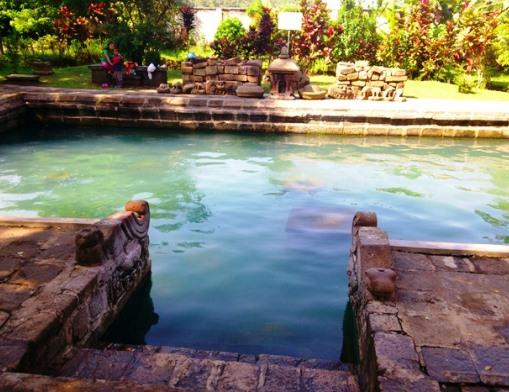 Candi Umbul antique pool