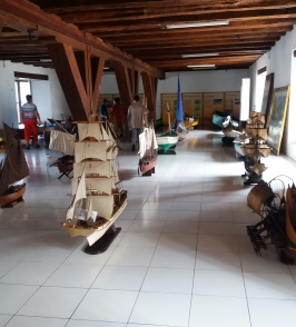 Maritime Museum. Rollstuhlreisen in Jakarta