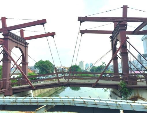 Dutch bridge in Jakarta