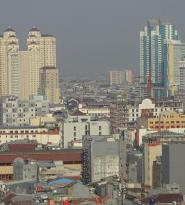 Jakarta. Rollstuhlreisen in Jakarta