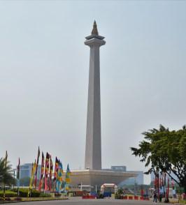 Monas. Rollstuhlreisen in Jakarta