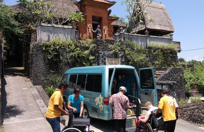 Arriving at Bali Asli