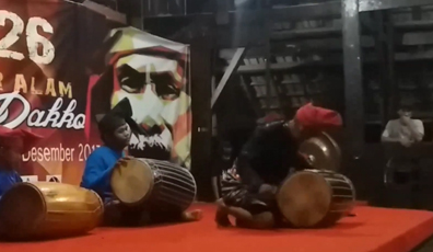 Drummers in Sulawesi