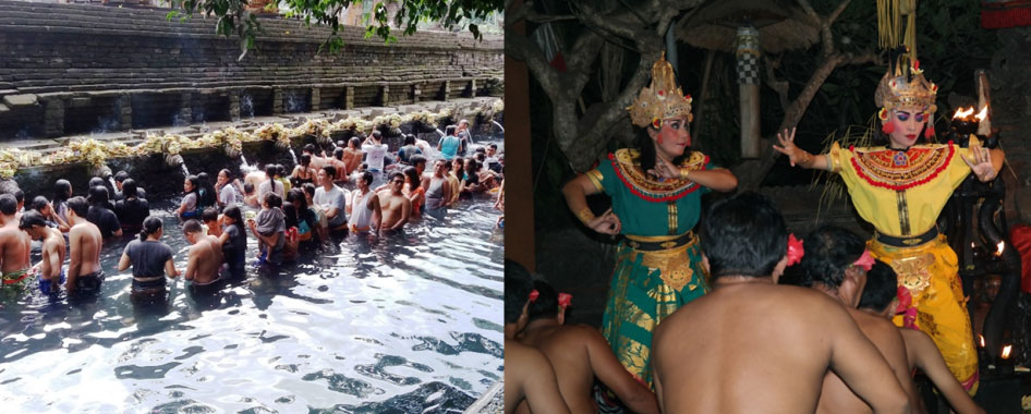Tirta Empul and Kecak