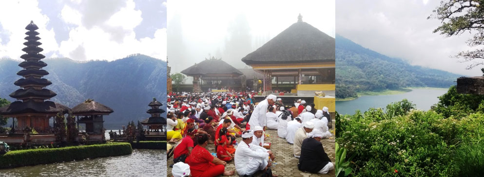 Ulun danu and twin lake