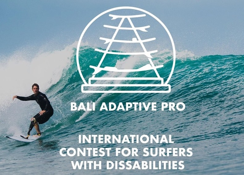 Bali International Contest for Surfers with Disabilities
