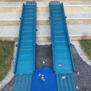 blue ramp