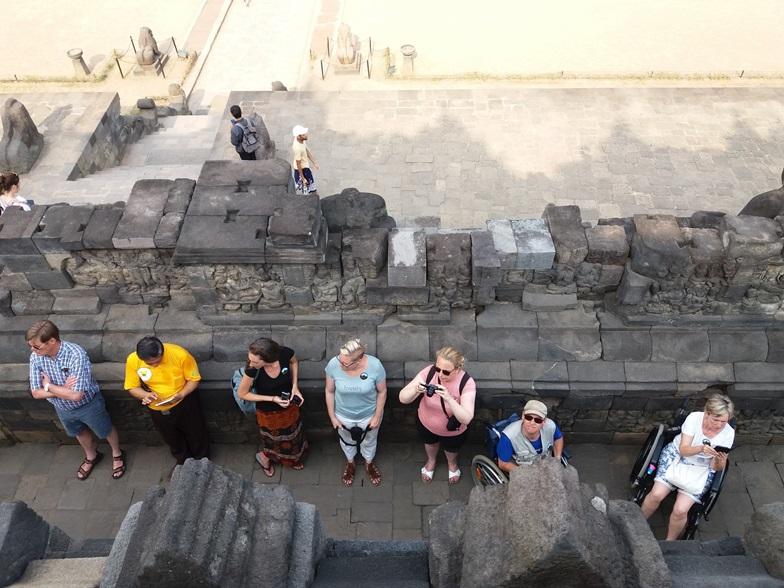 Mundorado on Borobudur