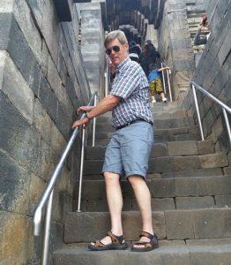 stairs on borobudur