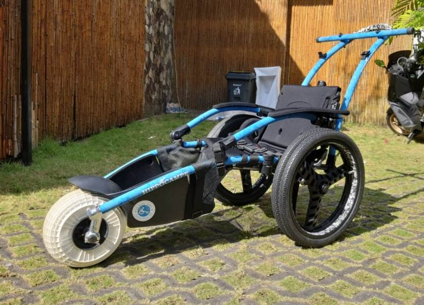 Hippo beach wheelchair