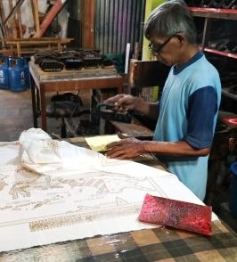 Batik, by Gert Lijnes AI tour