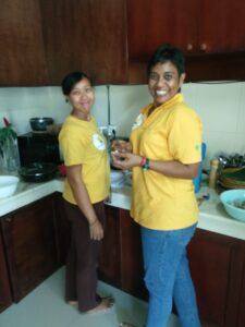 Maureen and Dewi