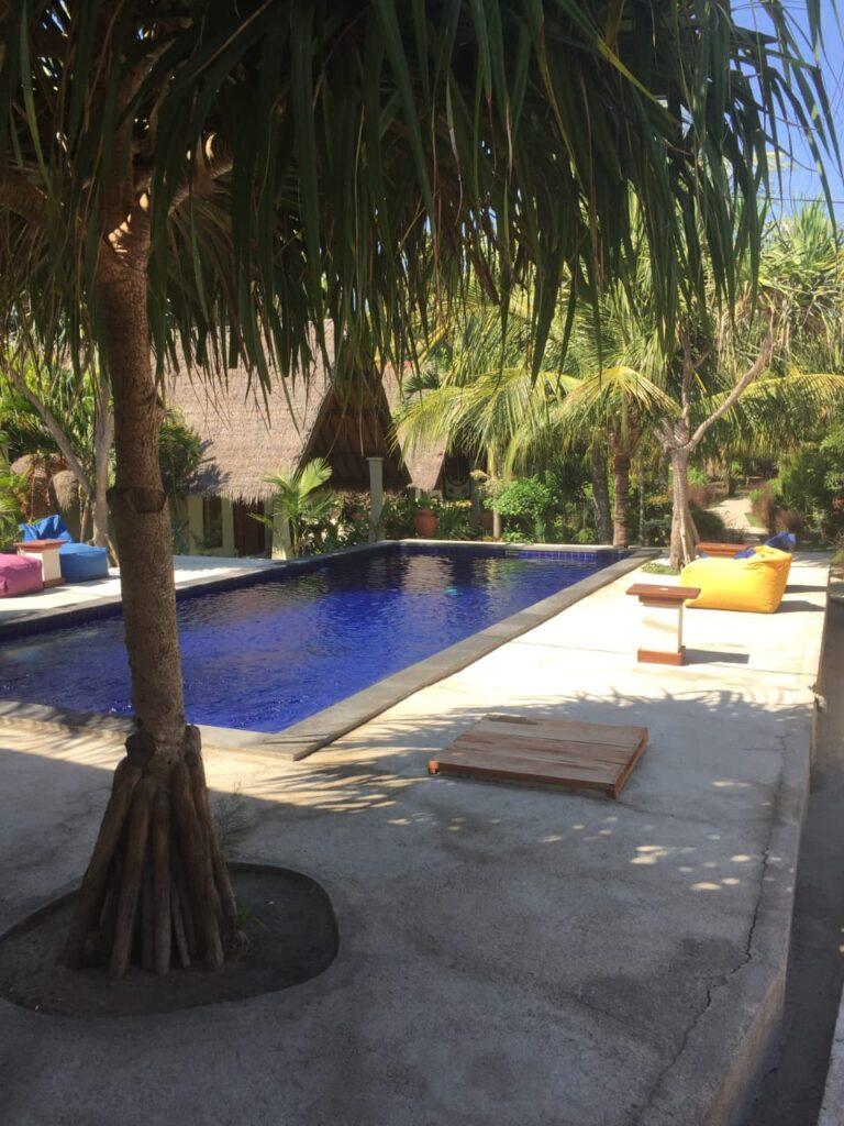 Pool at Pelangi Cottages